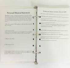 student planner for school student futures mission statement