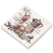 <b>Салфетки бумажные New</b> Line Чашка кофе 20 шт, 33х33 см в ...