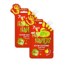 <b>Крем</b>-<b>парфюм для</b> рук <b>7DAYS</b> Happy hands с персиком | Отзывы ...
