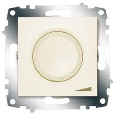 «<b>ABB</b> Cosmo Крем <b>Диммер поворотный</b> 800 Вт с подсв ...
