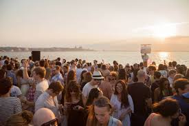 ra elevation sunset boat cruise marcus worgull innervisions line up
