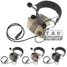 <b>Tactical</b> Peltor <b>COMTAC II</b> Electronic Hearing Protector <b>Headset</b> ...