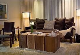arrange living room cozy rustic block table and black sofa ideas for cozy living room on budget