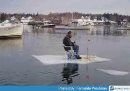 Real ice fishing | Memes.com via Relatably.com