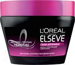 <b>L'Oreal Paris Elseve Сила</b> аргинина X3 (300мл) Маска для волос ...