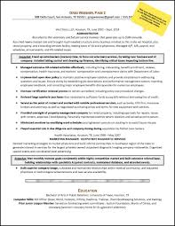 resume sample – career changesample career change resume for an administrative services manager   page