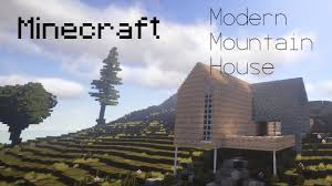 Modern Mountain House Minecraft Modern Mountain House 4k Barn Conversion Timelapse