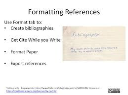 using reference management tools endnote and zotero  12 formatting references use
