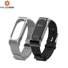 mijobs for xiaomi mi band 4 strap silicone wrist accessories bracelet miband for band 3