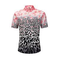 Mens <b>Leopard Print Tee</b> Shirt UK