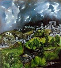 <b>Картина Вид Толедо</b> (<b>картина</b> Эль Греко)
