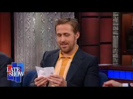 <b>Ryan Gosling</b> Asks Stephen A Lord Of The Rings Question From His ...