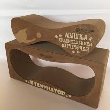 DOUBLE STANDART <b>wood набор</b> из двух когтеточек-лежанок ...