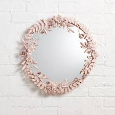 mirror wall decor circle panel: flower crown wall mirror flower crown wall mirror flower crown wall mirror