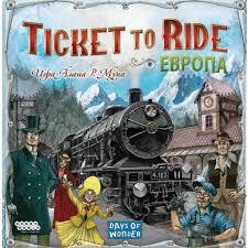 <b>Настольная игра Hobby World</b> Ticket to Ride Европа (3-е рус. изд ...