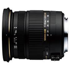 Купить <b>Объектив Sigma AF 17-50mm</b> f/2.8 EX DC OS HSM Canon в ...