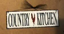 Декоративные <b>таблички</b> Country <b>Kitchen</b> — купить c доставкой с ...