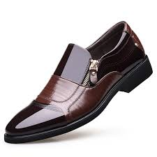 NPEZKGC New Spring Fashion Oxford Business <b>Men</b> Shoes ...