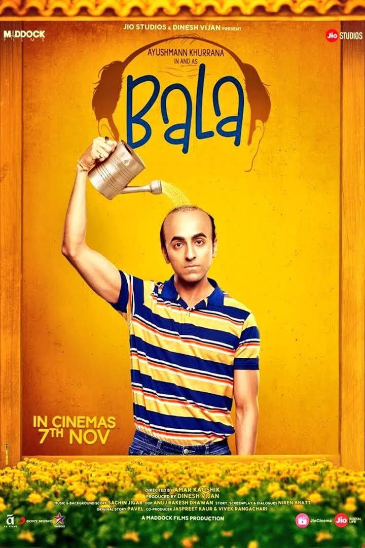 Bala (2019) Hindi Full Movie Download Pre-DvDRip – 720P – x264 – 700MB – Download
