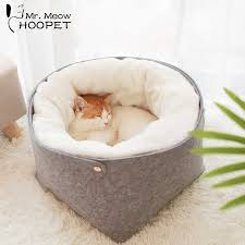 Hoopet Cat <b>Warm Basket</b> Bed Cat House Kennel for <b>Dog</b> Puppy ...