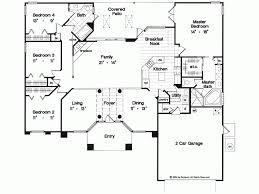 Eplans Mediterranean House Plan   Elegant One Story Home      Level
