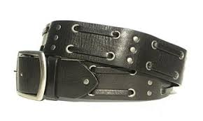 Double <b>Weave</b> Belt-Special Edition-Black <b>Leather</b> | Lucky <b>Dog</b> ...