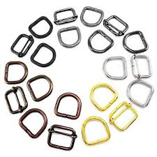 Bag strap slider <b>adjuster</b> and D rings <b>set 20</b> 25 30 35mm multi ...