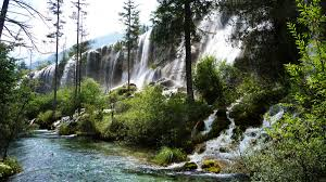jiuzhaigou the most beautiful place in bunch of backpackers waterfall jiuzhaigou