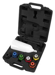 Wilmar - Performance Tool - <b>8 Piece Engine Oil</b> Filler Set [278934 ...