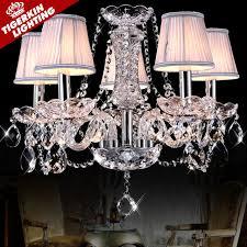 modern crystal chandeliers home lighting lustres de cristal decoration luxury candle chandelier pendants living room indoor candle decorative modern pendant lamp