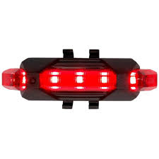 4 Mode Bicycle Taillight <b>LED Mountain Bike</b> Warning Light ...
