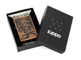 <b>Зажигалка Zippo</b> Boot <b>Laces</b> Toffee 28672