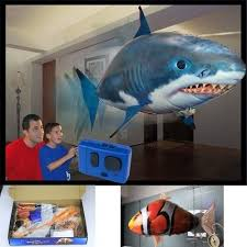 Air Toy Plastic <b>Inflatable</b> Toy Air Swimmer Remote Control <b>Flying</b> ...
