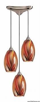 hand blown glass pendants elk lighting blown glass pendant lighting