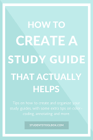 how to write a good essay in steps colleges we and hacks check out how to make a study guide that actually helps this study guide template