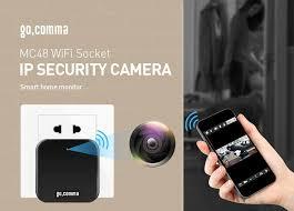 $22 with coupon for <b>Gocomma</b> MC48 WiFi Socket Plug <b>1080P</b> Full ...