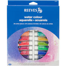 Reeves <b>Watercolor Paint</b> Assorted <b>Colors 24</b> Per Package | JOANN