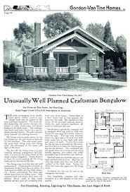 Gordon Van Tine     Unusually Well Planned   Sears Modern HomesGordon Van Tine     as seen in the catalog