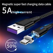 Apply Huawei 5A <b>Super Fast</b> Charge Data Cable <b>Type</b>-<b>C</b> Magnetic ...