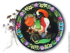 чёрный,<b>лиса</b>,лисичка,<b>велосипед</b>,петриковская роспись