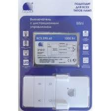 Купить <b>Выключатель с ДУ IMAGE</b> RCS.590.60 RF Мини. 1*1000Вт ...