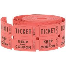 Double Roll Raffle Tickets, 500ct (Assorted Colors) - Walmart.com Double Roll Raffle Tickets, 500ct (Assorted Colors)