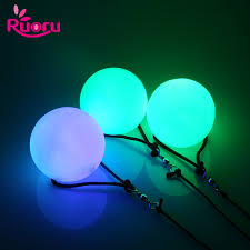 <b>Ruoru 1 Piece</b> 1PC Belly Dance Ball Stage Performance Led Poi ...