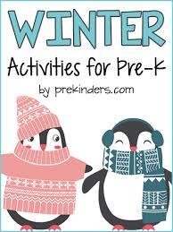 <b>Winter Theme</b> - PreKinders