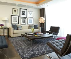 correct rug size living room navy blue area rug for modern living room and window treatments