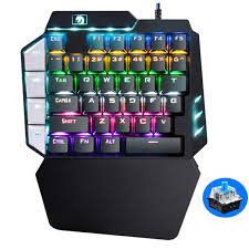 <b>Technology K109 Gaming Keyboard</b> One Hand Operation Mobile ...