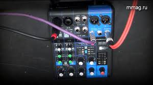 mmag.ru: <b>Yamaha MG06X</b> - микшер с примером звучания секции ...