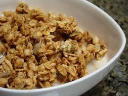 High calorie granola
