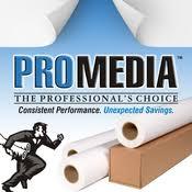 """ProMedia 20lb Virgin Bond Paper 24"""" x 300' (2"""" Core) (2/Bx)"""