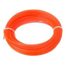 New 15m x 1.25mm <b>Nylon</b> Trimmer Line <b>Rope</b> Roll For Most Petrol ...